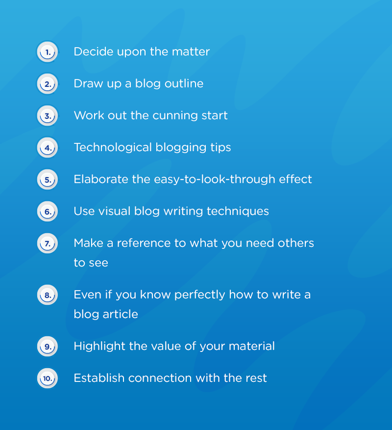 10 Simple Steps to Successful Blogging